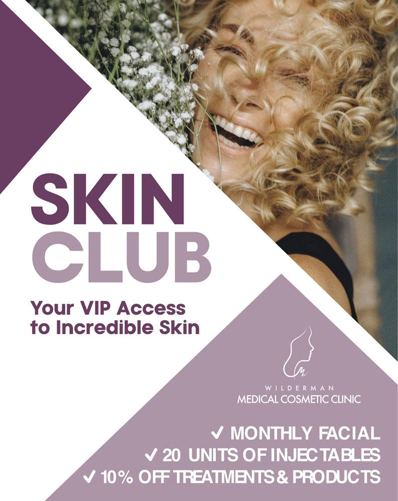 Skin Club Membership for VIP access